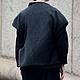 Верхняя одежда ручной работы. Пальто авторское. Галина Зыкова. Интернет-магазин Ярмарка Мастеров. Черный, модное пальто