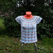 """Одежда ручной работы. Ярмарка Мастеров - ручная работа Кофта """" Зигзаги """". Handmade."""