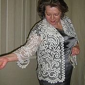 Одежда handmade. Livemaster - original item Ellen`s jacket Vologda Vyatka lace. Handmade.