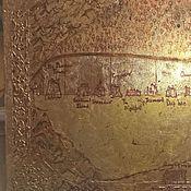 Картины и панно ручной работы. Ярмарка Мастеров - ручная работа Карта стены по игра престолов, песнь льда и пламени, game of throns. Handmade.
