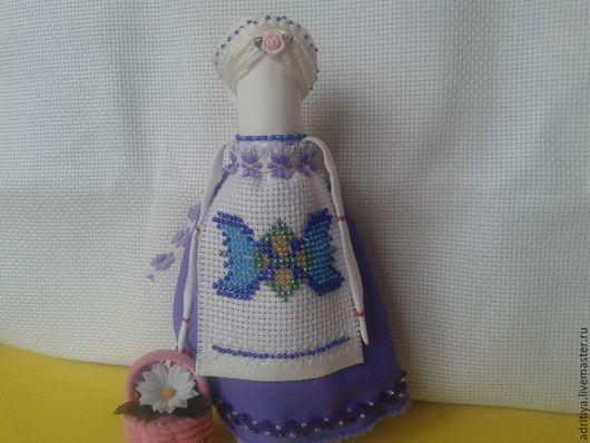 """Народные куклы ручной работы. Ярмарка Мастеров - ручная работа. Купить Куколка столбушка """"Помощница"""". Handmade. Разноцветный, оберег"""