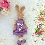Куклы и игрушки handmade. Livemaster - original item Bunny big Soft toy. Handmade.