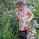 Одежда для девочек, ручной работы. Ярмарка Мастеров - ручная работа. Купить Платье для Дианы.. Handmade. Разноцветный, вязание на заказ