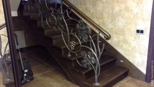 Элементы интерьера ручной работы. Ярмарка Мастеров - ручная работа. Купить виноград на лестнице. Handmade. Лестница, дизайн интерьера