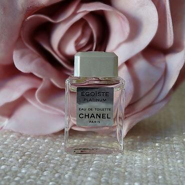 Винтаж ручной работы. Ярмарка Мастеров - ручная работа EGOISTE Platinum Chanel (1993) Eau de Toilette 4 ml миниатюра, винтаж. Handmade.