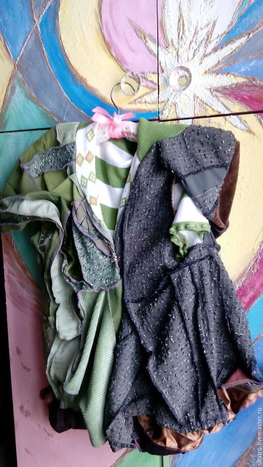 Кофты и свитера ручной работы. Ярмарка Мастеров - ручная работа. Купить бохо-кофта МИСТИКА МЕЧТЫ. Handmade. Тёмно-зелёный