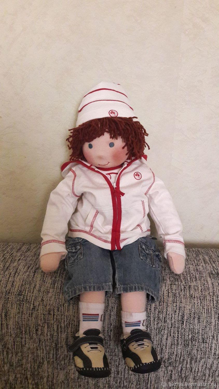 Текстильная кукла-Мальчик, Куклы и пупсы, Евпатория,  Фото №1
