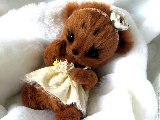 Мишки Тедди ручной работы. Ярмарка Мастеров - ручная работа. Купить Вилена. Мишка тедди.. Handmade. Комбинированный