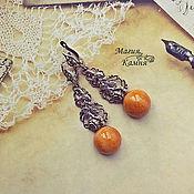 Украшения handmade. Livemaster - original item Earrings from simbircite