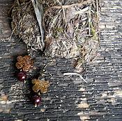 """Украшения ручной работы. Ярмарка Мастеров - ручная работа Серьги """"Дети цветов"""". Handmade."""