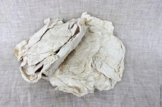 Валяние ручной работы. Ярмарка Мастеров - ручная работа. Купить Шелк эри. Handmade. Белый, шелковые волокна, малберри