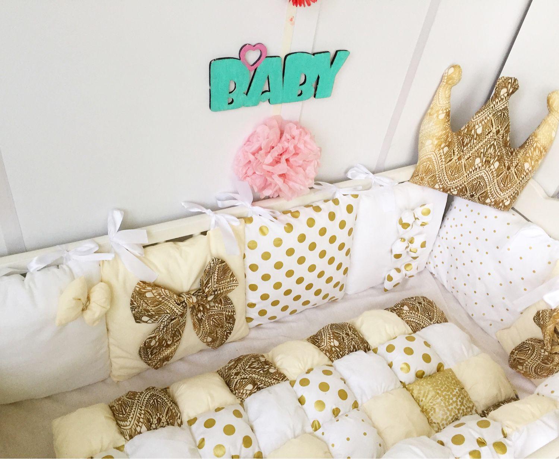 Бортики в кроватку бомбон