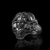 Украшения handmade. Livemaster - original item Rings:Biomechanical head. Handmade.