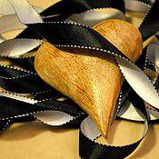 """Материалы для творчества ручной работы. Ярмарка Мастеров - ручная работа Лента Атлас с прострочкой """"ДоМиНо"""" двухсторонняя (Франция). Handmade."""