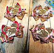 """Работы для детей, ручной работы. Ярмарка Мастеров - ручная работа Бантики для волос """"Модняшка Минни"""" .. Handmade."""