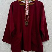 Одежда handmade. Livemaster - original item Tunic of boiled cotton.. Handmade.