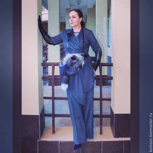 """Костюмы ручной работы. Ярмарка Мастеров - ручная работа. Купить Костюм """"Марлен Дитрих"""".  Жакет+широкие брюки.. Handmade."""