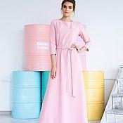 Одежда ручной работы. Ярмарка Мастеров - ручная работа Платье Изысканный розовый. Handmade.