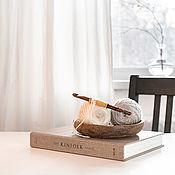 Материалы для творчества handmade. Livemaster - original item 9mm Cedar Wood Knitting Hook. K297. Handmade.