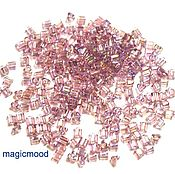 Материалы для творчества ручной работы. Ярмарка Мастеров - ручная работа 10гр 11/0 Бисер Тохо треугольник 166 свет аметист японский бисер TOHO. Handmade.