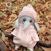 Куклы и игрушки handmade. Livemaster - original item Knitted elephant Fania. Handmade.