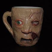 Посуда ручной работы. Ярмарка Мастеров - ручная работа кружка зомби2. Handmade.