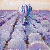 Картины и панно handmade. Livemaster - original item Lilac wind. Lavender. Handmade.