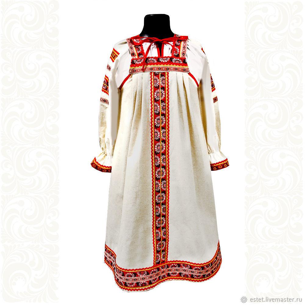Сарафан с блузой Глаша, Народные платья, Королев,  Фото №1