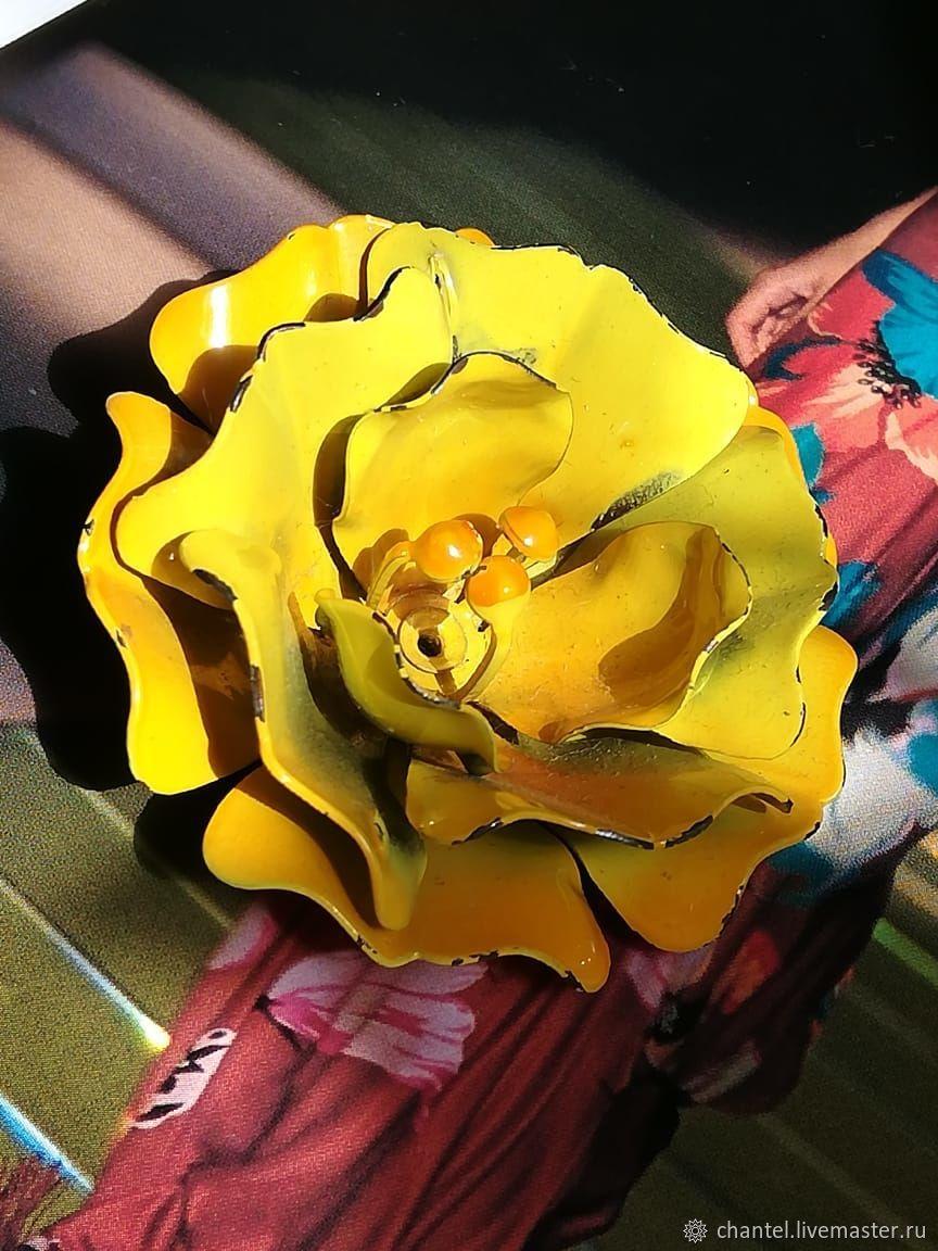 Винтаж: Брошь цветочная, Броши винтажные, Санкт-Петербург,  Фото №1