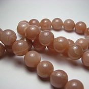 Материалы для творчества handmade. Livemaster - original item Oligoclase, Sunstone, smooth ball 8 mm. Handmade.