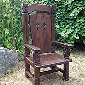 Для дома и интерьера ручной работы. Ярмарка Мастеров - ручная работа Кресло среднее. Handmade.