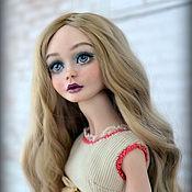 Куклы и игрушки ручной работы. Ярмарка Мастеров - ручная работа Анечка, фарфоровая шарнирная кукла. Handmade.
