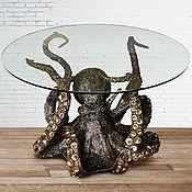 Для дома и интерьера ручной работы. Ярмарка Мастеров - ручная работа стол Octopus. Handmade.