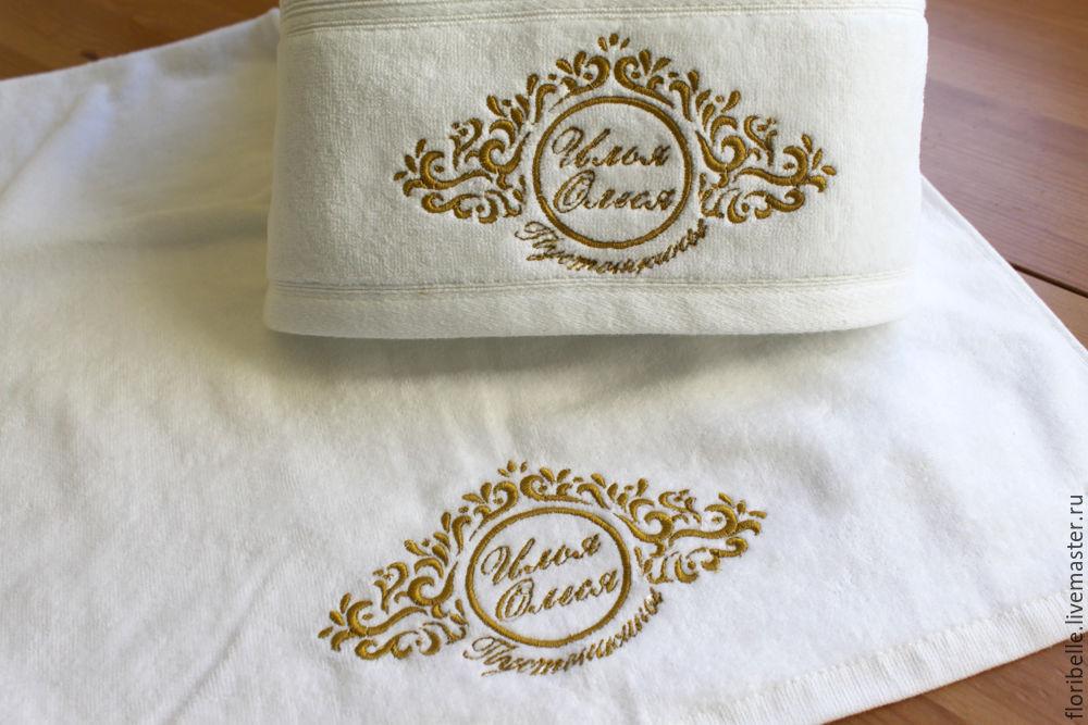 Вышивка на полотенце мастер класс