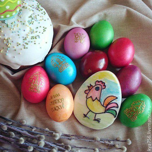 Пряник-яйцо, раскрашенное ребенком 6 лет!