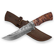 Сувениры и подарки handmade. Livemaster - original item The handmade damascus steel knife «East». Handmade.