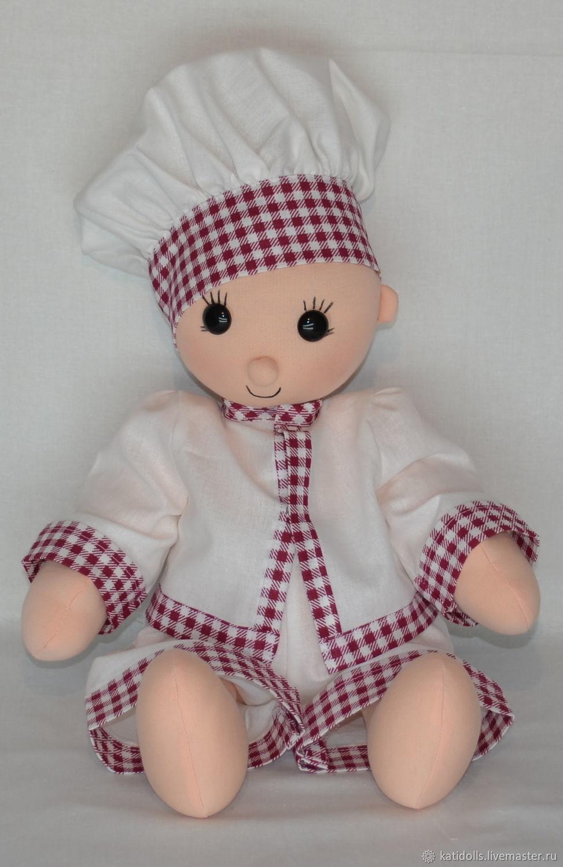Кукла интерьерная и игровая( повар), Куклы и пупсы, Киров,  Фото №1
