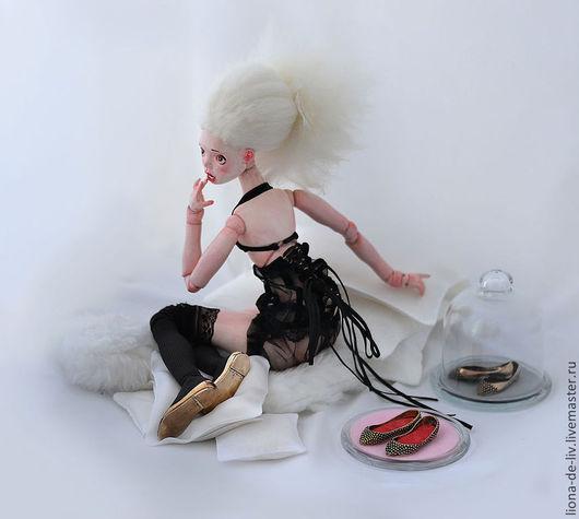 """Миниатюра ручной работы. Ярмарка Мастеров - ручная работа. Купить Обувь """"Принцесса"""". Handmade. Золотой, серебро ручной работы"""