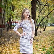 Одежда handmade. Livemaster - original item The novelty of autumn - Dress
