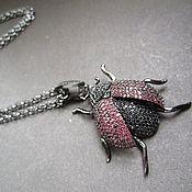 """Украшения handmade. Livemaster - original item Кулон """"Lady bug"""". Handmade."""