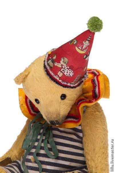 Мишки Тедди ручной работы. Ярмарка Мастеров - ручная работа. Купить Рами. Handmade. Коллекционные медведи, ручная работа
