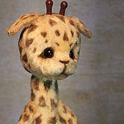 Куклы и игрушки ручной работы. Ярмарка Мастеров - ручная работа Жирафик Смайлик. Handmade.