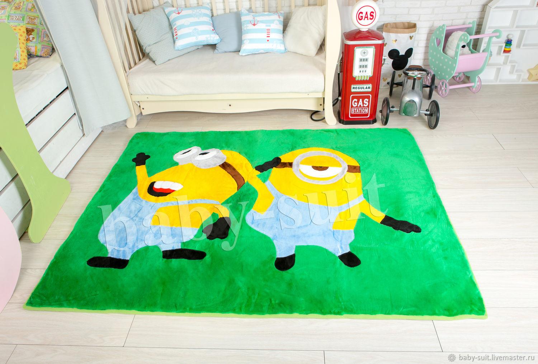 Детский коврик Миньон для малышей и детей