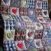 """Для дома и интерьера ручной работы. Ярмарка Мастеров - ручная работа одеяло """"Сердечное"""" 2 и3. Handmade."""
