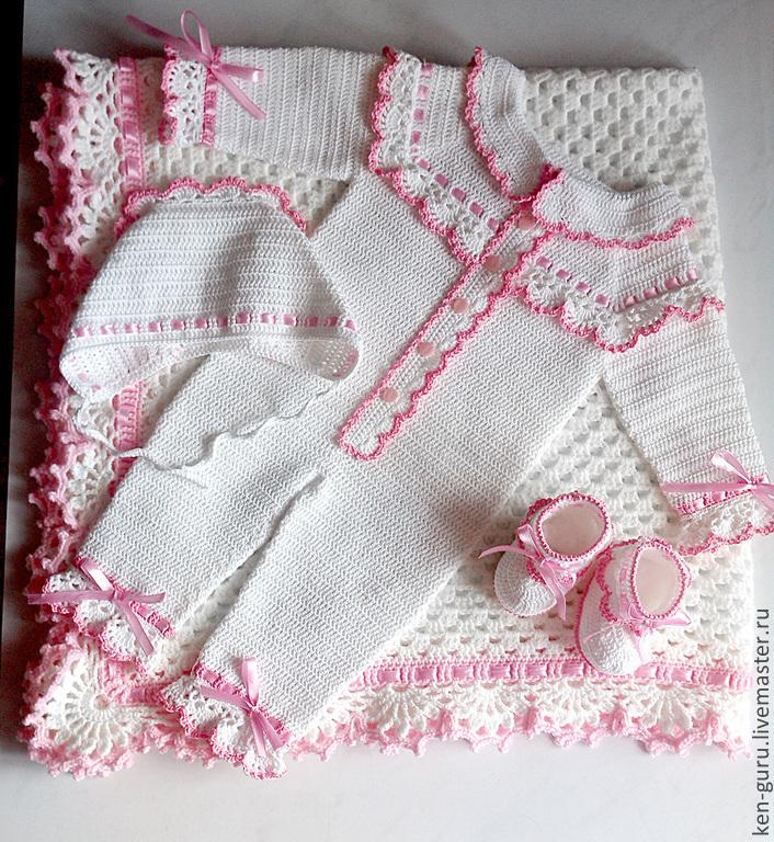 Комплект для новорождённого своими руками