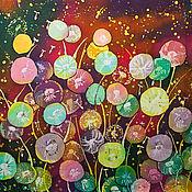 Картины и панно handmade. Livemaster - original item Batik panel