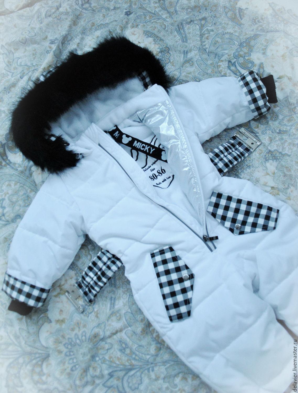 Детский комбинезон зимний своими руками фото 670