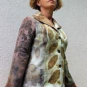 """Одежда ручной работы. Ярмарка Мастеров - ручная работа Жакет валяный """"Гербарий"""". Handmade."""