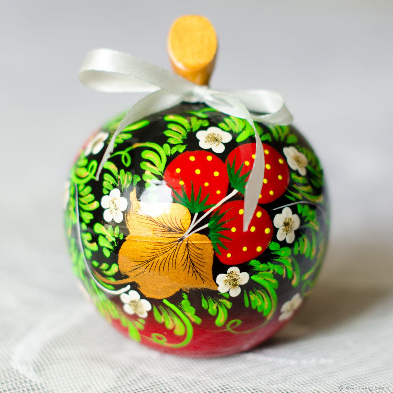 Шкатулка яблоко хохлома, Шкатулки, Нижний Новгород,  Фото №1