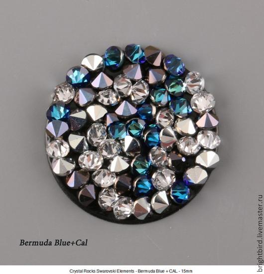 Для украшений ручной работы. Ярмарка Мастеров - ручная работа. Купить Crystal Rocks  Bermuda Blue+Cal  Кристал Рокс. Handmade.